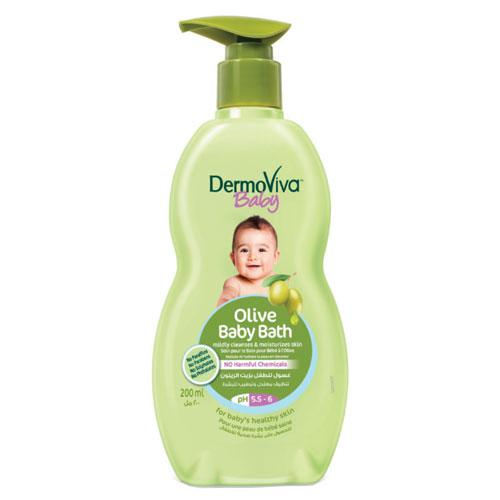Sữa tắm DermoViva Baby Olive baby Bath cho bé