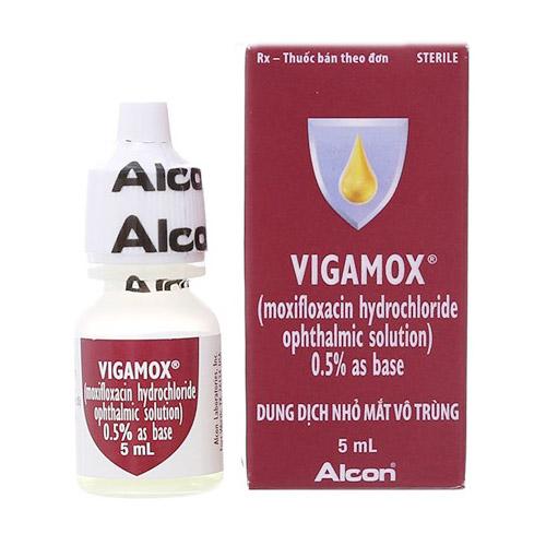 Thuốc nhỏ mắt Vigamox chai 5ml