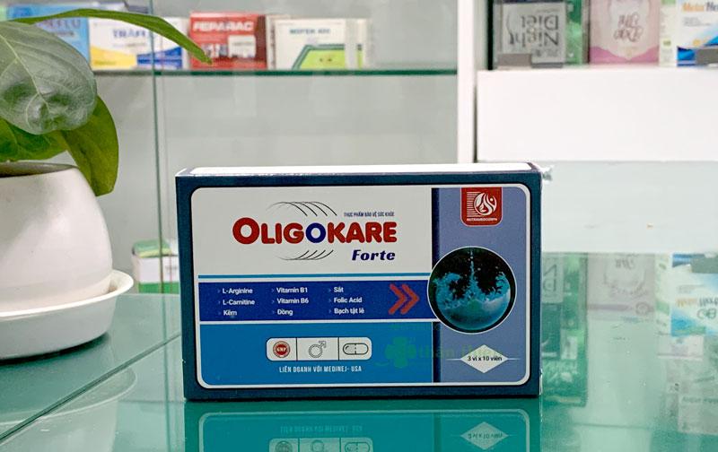 Sản phẩm Oligokare Forte hiện cũng có bán tại Nhà Thuốc Thân Thiện