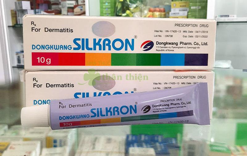 Hình thuốc 7 màu Silkron Hàn Quốc, đang có bán trên thị trường
