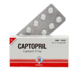 Thuốc Captopril Domesco 25mg