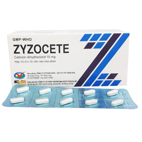 Thuốc chống dị ứng Zyzocete