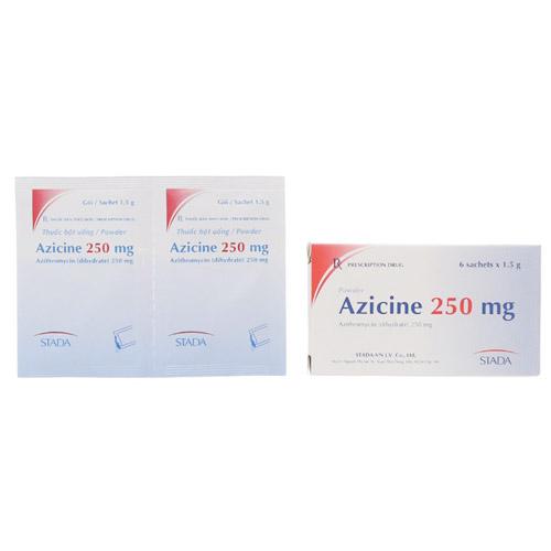 Thuốc kháng sinh Azicine 250mg