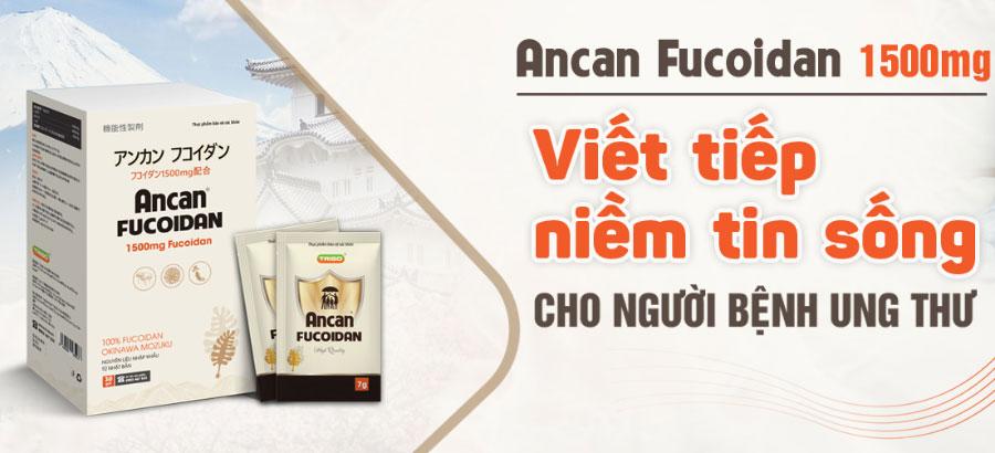 Ancan Fucoidan, hỗ trợ hạn chế quá trình oxy hóa và hỗ trợ nâng cao sức đề kháng