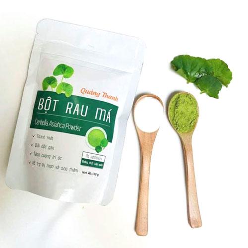 Bột rau má Quảng Thanh 100g