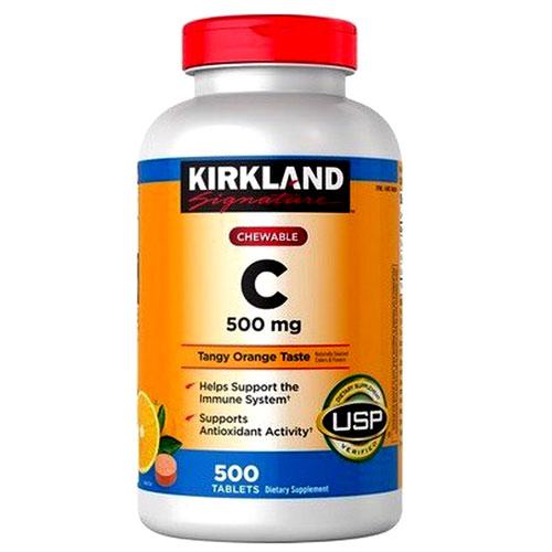 Chewable Vitamin C Kirkland Signature