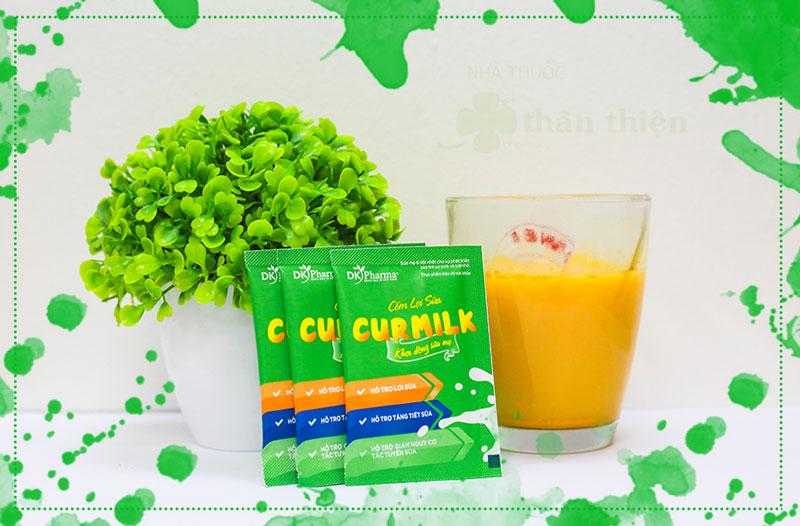 Cốm lợi sữa Curmilk, hỗ trợ tăng khả năng tiết sữa mẹ
