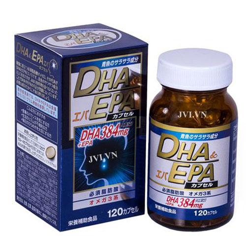 Viên bổ não sáng mắt DHA & EPA Soft Capsule