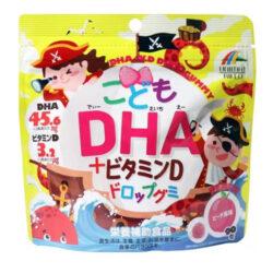 Kẹo dẻo DHA vị đào