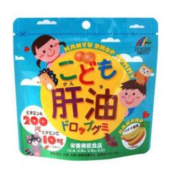 Kẹo dẻo Kanyu vị chuối Unimat Riken