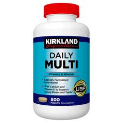 Viên uống Kirkland Signature Daily Multi Vitamins & Minerals