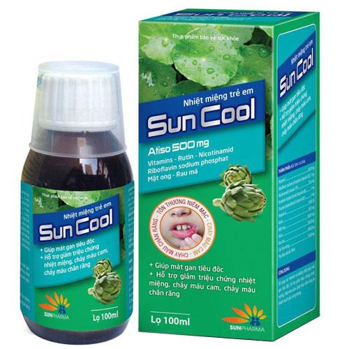 Nhiệt miệng trẻ em Suncool