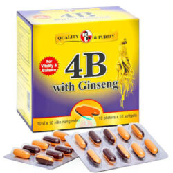 4B With Ginseng
