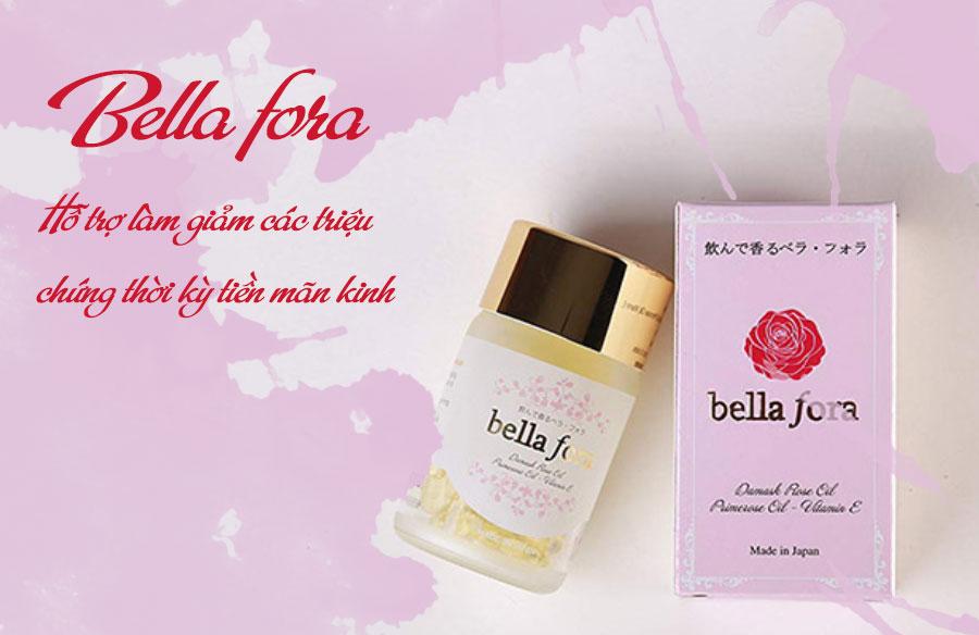 Viên nang tinh chất hoa hồng Bella Fora, hỗ trợ làm đẹp và trẻ hóa da