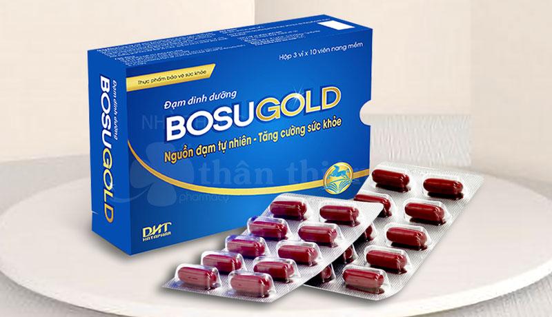BosuGold, hỗ trợ tăng cường sức khỏe, nâng cao sức đề kháng