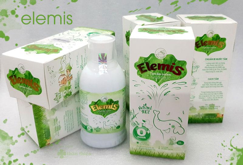 Nước thảo dược tắm gội trẻ em Elemis hiện đang có bán chính hãng tại nhà thuốc Thân Thiện