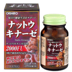 Viên uống chống đột quỵ Nattokinase Orihiro 2000FU