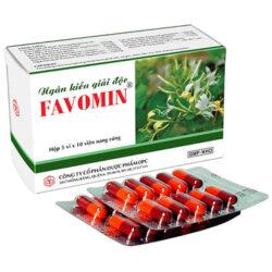 Ngân Kiều Giải Độc Favomin