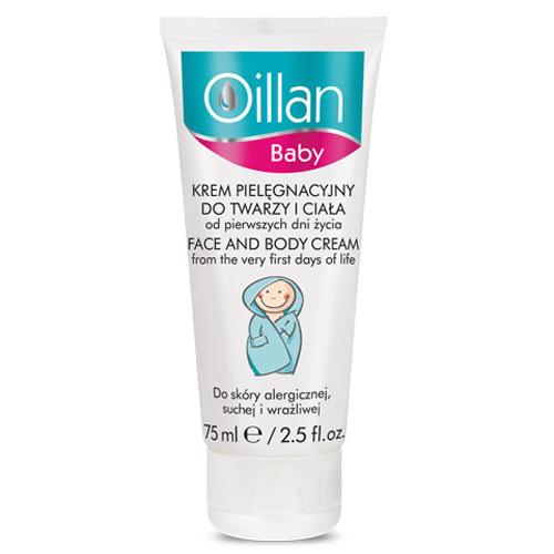 Oillan Baby Face and Body Cream
