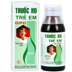 Thuốc ho trẻ em OPC