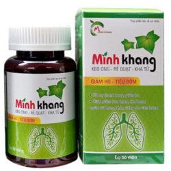 Viên ngậm ho Minh Khang