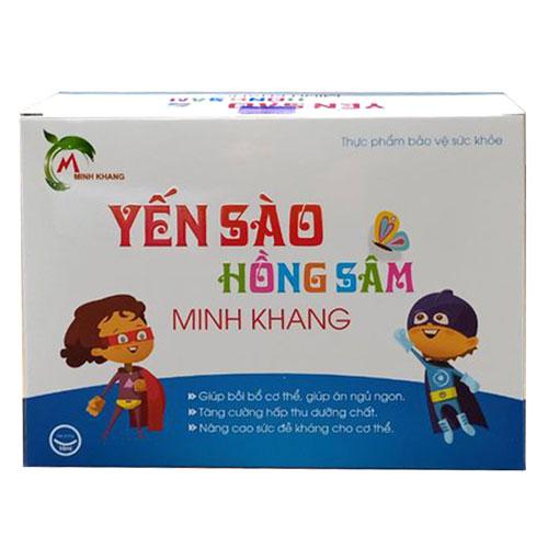 Yến sào hồng sâm Minh Khang
