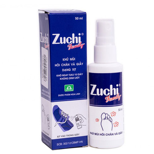 Xịt khử mùi Zuchi