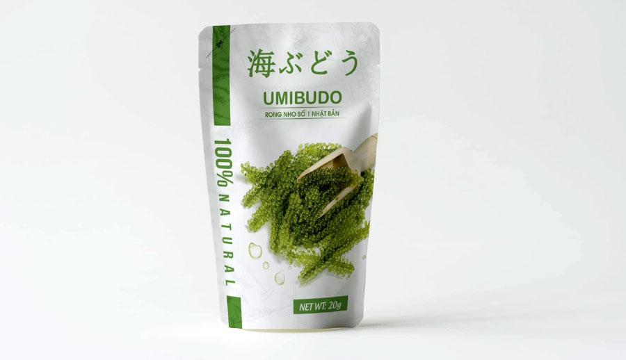 Rong nho Umibudo, hỗ trợ tăng cường làm đẹp da, tốt cho hệ tim mạch