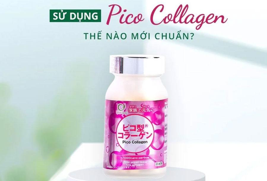 Pico collagen, hỗ trợ giảm lão hóa da và hỗ trợ giúp tóc và móng chắc khỏe