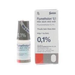 Dung dịch nhỏ mắt Flumetholon 0,1%