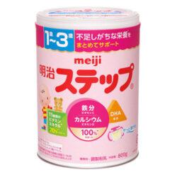 Sữa Meiji Step 1-3 tuổi, hộp thiếc 800g