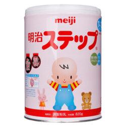 Sữa Meiji Step 1-3 tuổi hộp 820g
