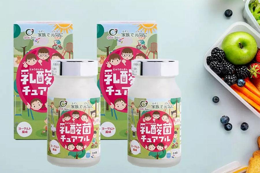 Nyusankin Chuaburu, hỗ trợ bổ sung vi khuẩn có lợi cho đường ruột