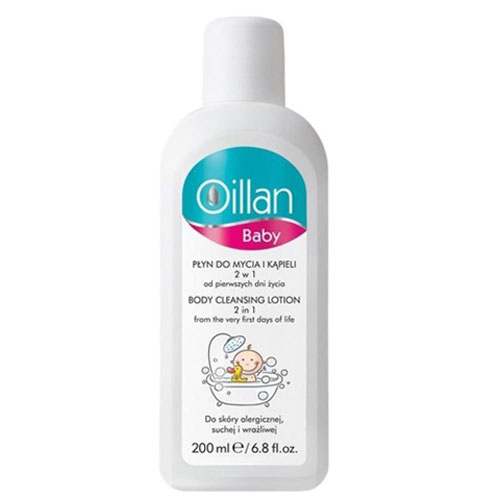 Oillan Baby Body Cleansing Lotion 2 in 1