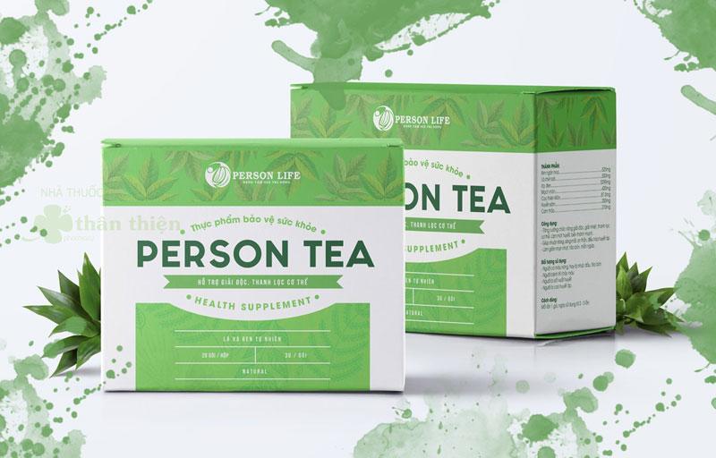 Trà túi lọc Person Tea, giúp bảo vệ và tăng cường chức năng gan