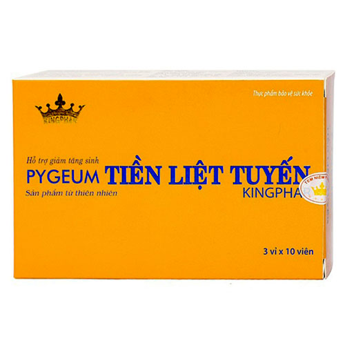 Pygeum Kingphar - Tiền liệt tuyến
