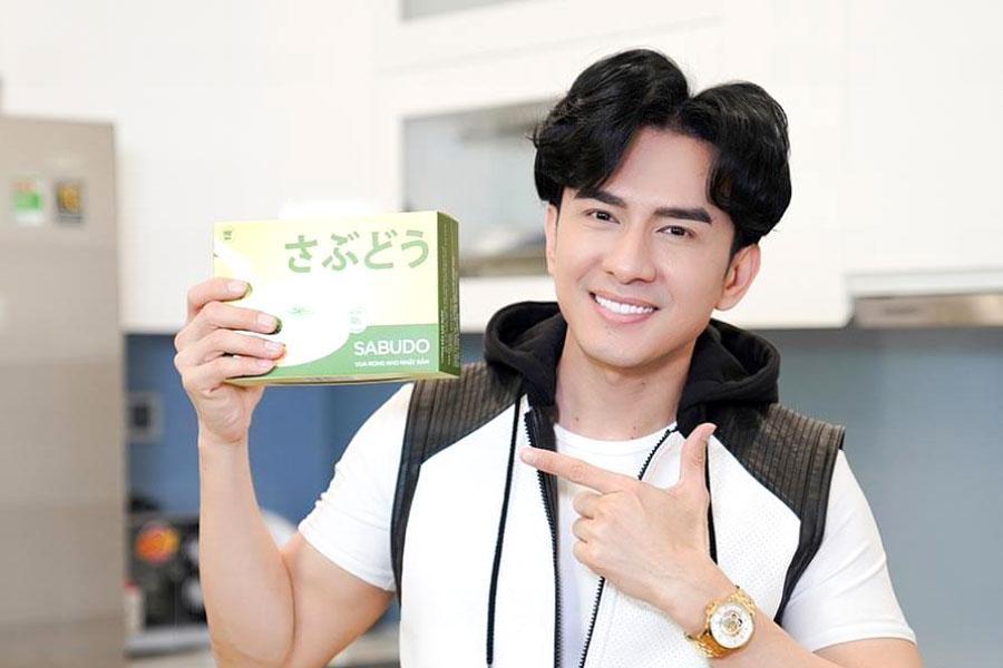 Đan Trường cũng tin dùng sản phẩm Rong nho Sabudo