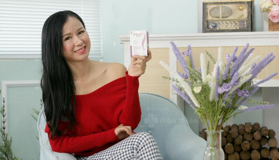 An Phụ Khang Plus, dùng cho các trường hợp: u xơ tử cung, u nang buồng chứng, tuyến vú