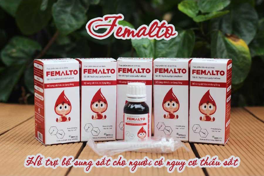 Femalto, Hỗ trợ bổ sung sắt cho người có nguy cơ thiếu sắt
