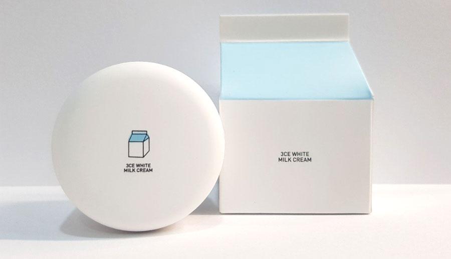 Kem dưỡng da mặt 3CE White Milquidro Facial Cream