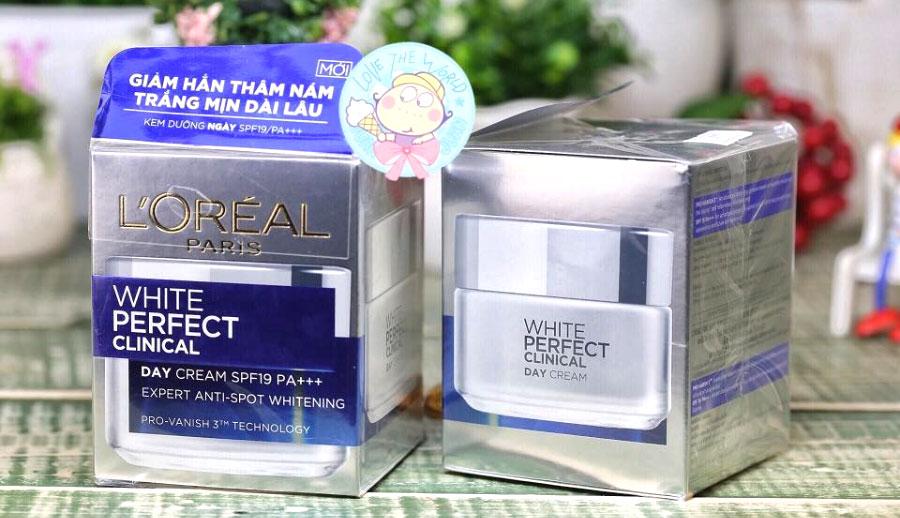 Bộ Kem dưỡng da ngày và đêm White Perfect Clinical