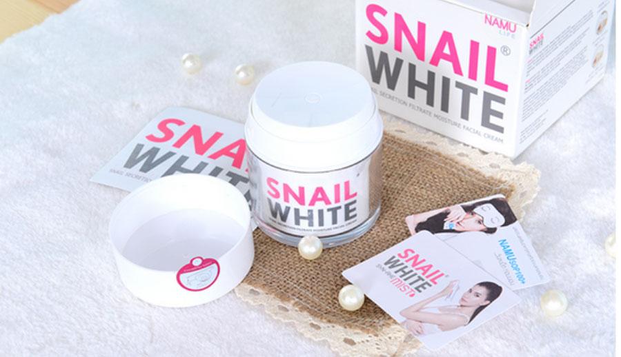 Kem dưỡng trắng da mặt Thái Lan – Snail White