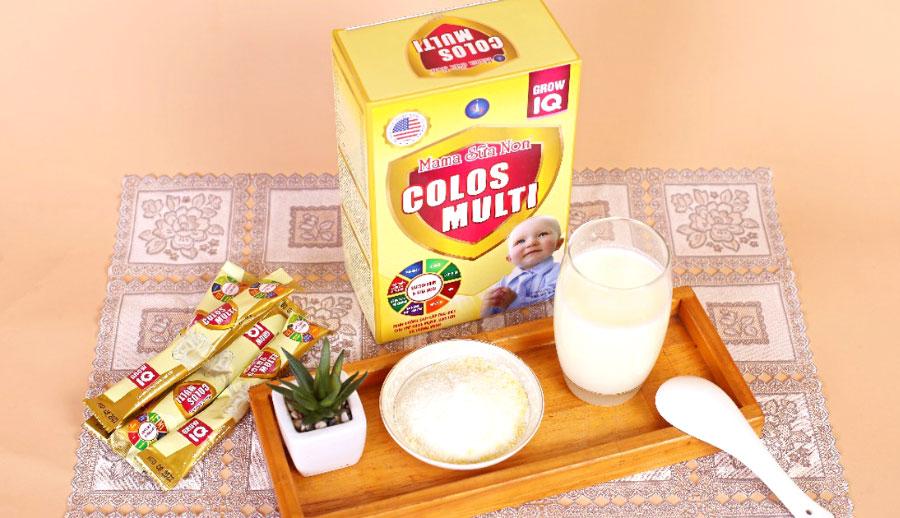 Mama sữa non Baby New & Colos Multi, hỗ trợ tăng cường sức đề kháng