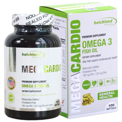 Megacardio Omega 3 Fish Oil
