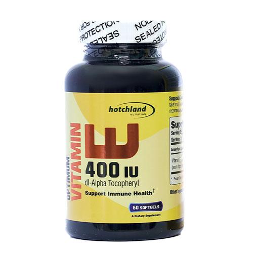 Optimum Vitamin E 400 IU