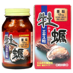 Orihiro New Oyster Extract Tablets - Tinh chất hàu tươi Orihiro