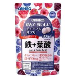 Viên bổ sung Sắt và Acid Folic Orihiro