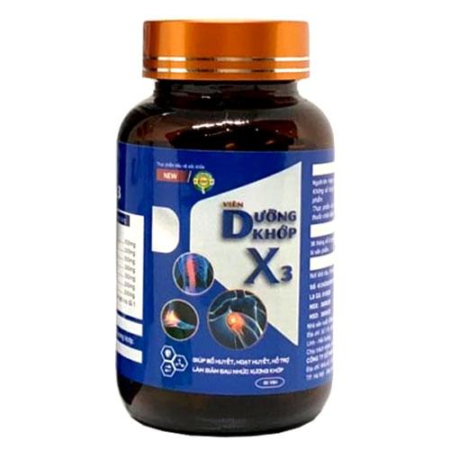 Viên dưỡng khớp X3