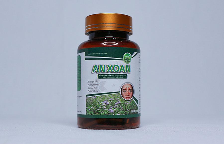 Viên uống An Xoan, hỗ trợ làm giảm các triệu chứng của viêm xoang