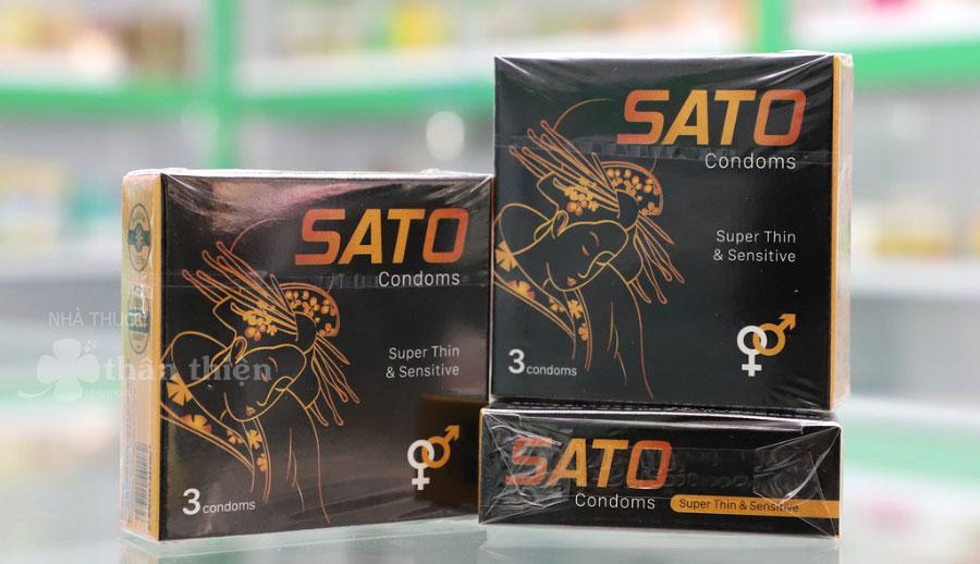 Bao cao su Sato, hỗ trợ bảo vệ cơ thể khỏi các bệnh lây nhiễm như HIV, lậu, giang mai
